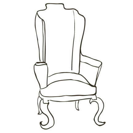 Möbel im Shabby Chic, Landhausstil, Vintage Stil von Enchanté Concept.