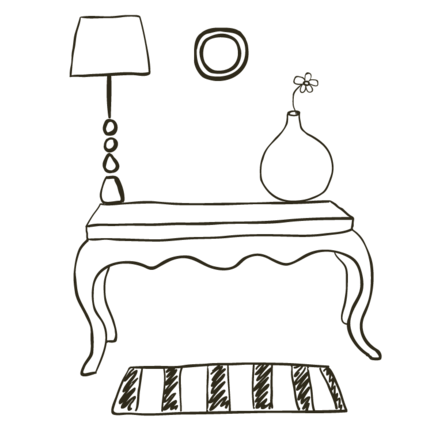 Dekorationen, Wohnaccessoires und Einrichtung im Shabby Chic, Landhausstil, Vintage Stil von Enchanté Concept.