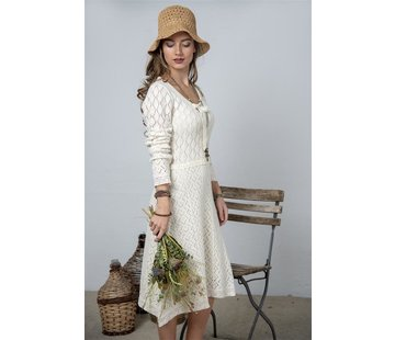 Jeanne d`Arc Living Strickkleid | Heartfelt warmth - Cream