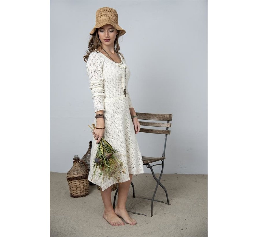 Strickkleid | Heartfelt warmth - Cream