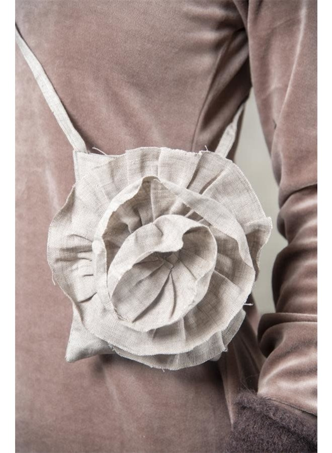 Mobile Bag - Nateltäschli | Rose - Linen
