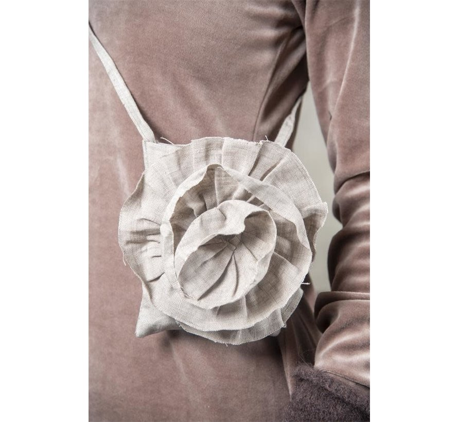 Mobile Bag - Nateltäschli | Rose - Linen