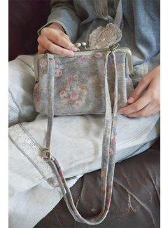 Jeanne d`Arc Living Ziegenleder Handtasche - Flower Power