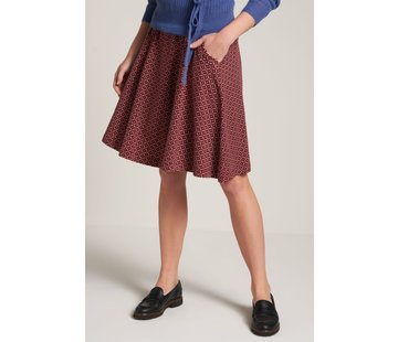King Louie Rock | Sofia Skirt Namara - True Red