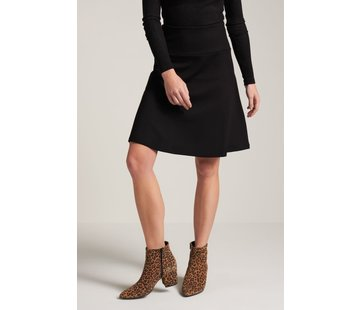 King Louie Rock | Border Skirt Milano Uni - Black