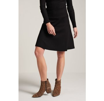 King Louie Rock | Border Skirt Milano Uni - Black