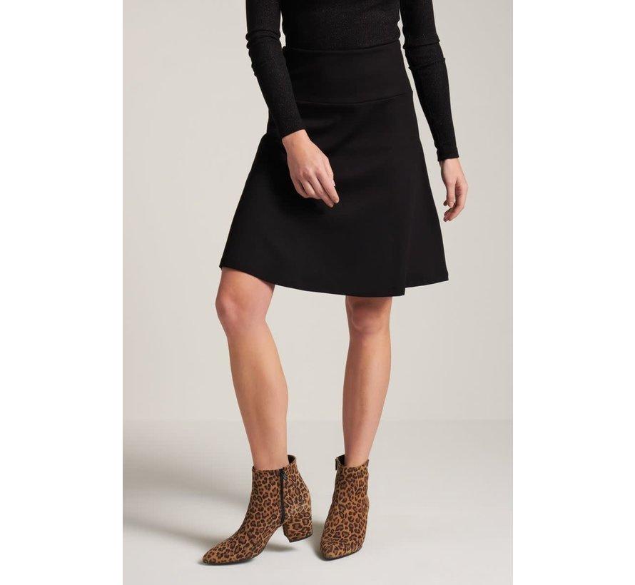 Rock | Border Skirt Milano Uni - Black