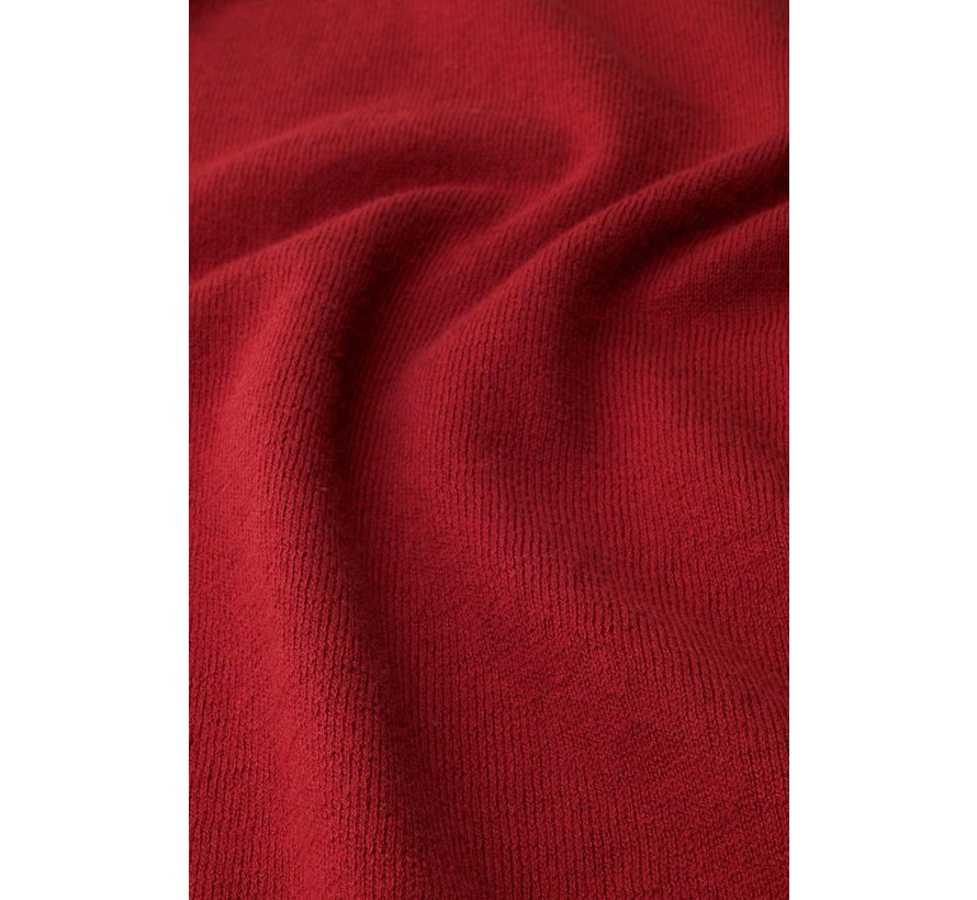 Feinstrickpulli | Audrey Top Cottonclub - Chili Red