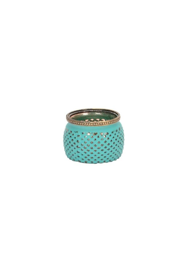 "Teelichthalter ""Mint Dream"" | D11xH8cm"