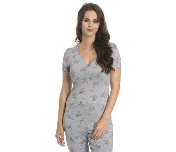 Vive Maria Pyjama | Ice Flower Pyjama - pearl blue allover