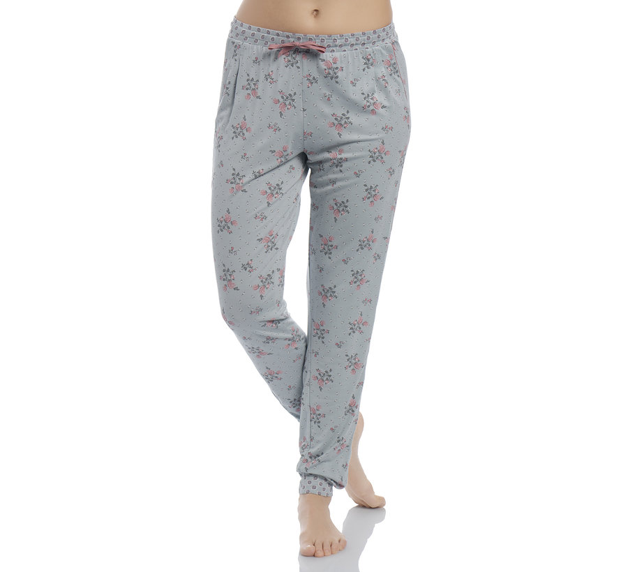 Pyjama | Ice Flower Pyjama - pearl blue allover