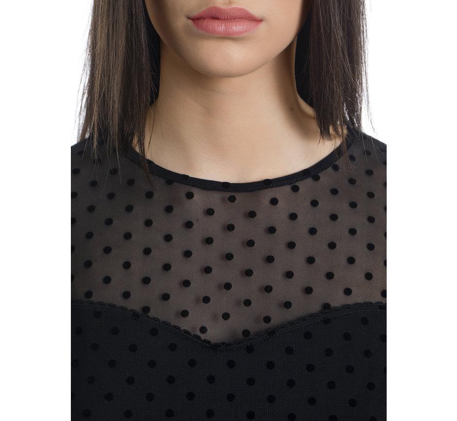 Kleid   La Minette Tulle Dress - black