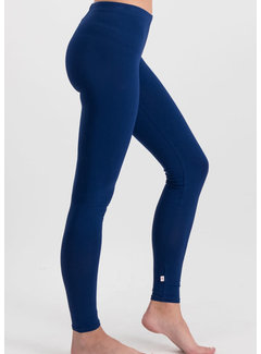 Blutsgeschwister Leggings | logo leggings - back to blue
