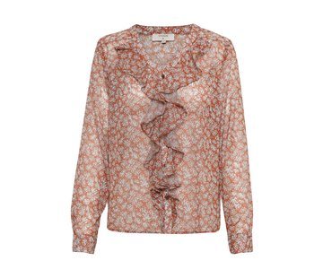 Cream Clothing Bluse | Melissa Shirt - Ginger Bread