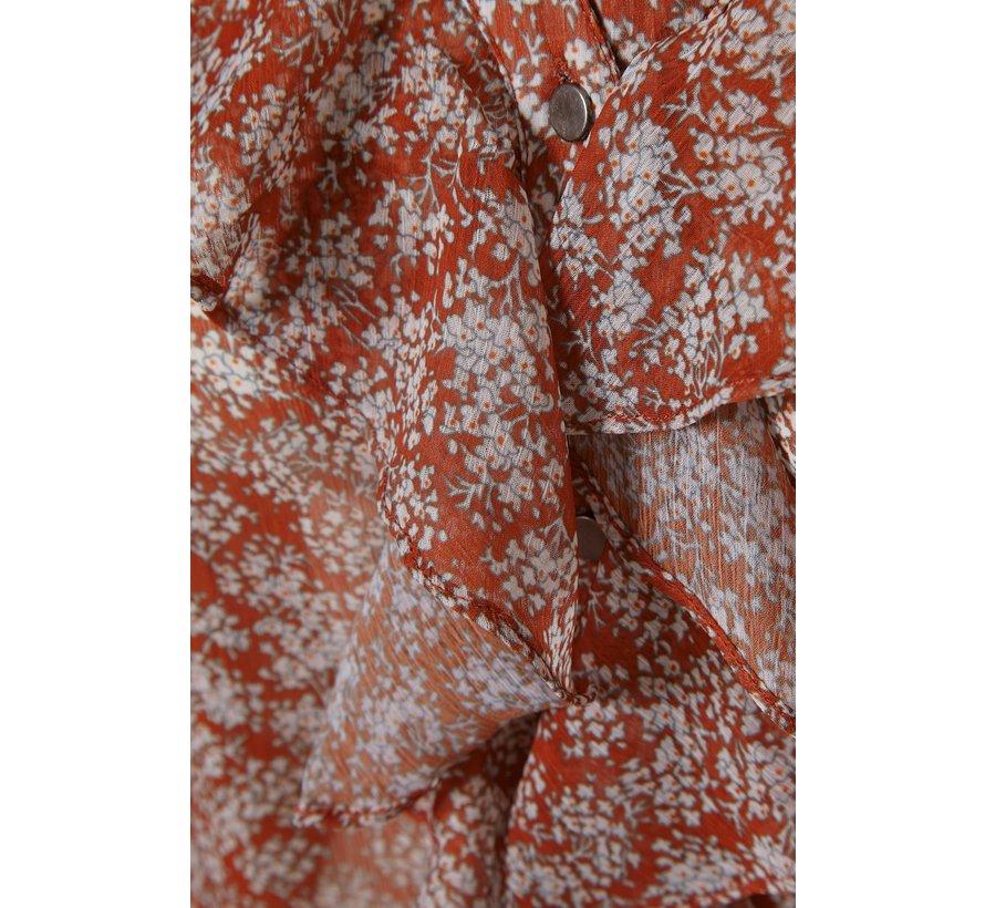 Bluse | Melissa Shirt - Ginger Bread