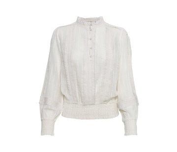Cream Clothing Bluse   Haylie blouse - Chalk