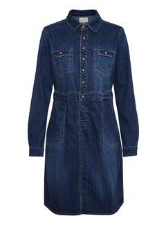 Cream Clothing Kleid | Spica Denim Dress - Denim Melange
