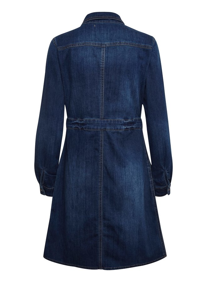 Kleid | Spica Denim Dress - Denim Melange