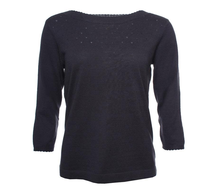 Pullover | Annina-ebony