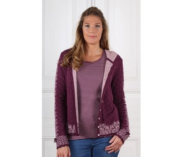 Sorgenfri Sylt Strickjacke | Kaete-grape