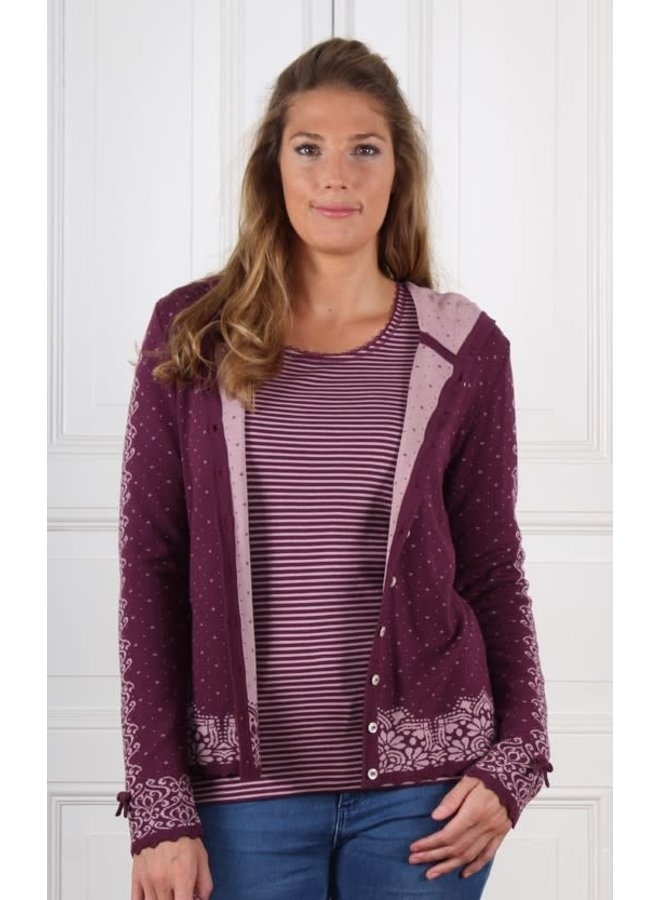 Strickjacke | Kaete-grape