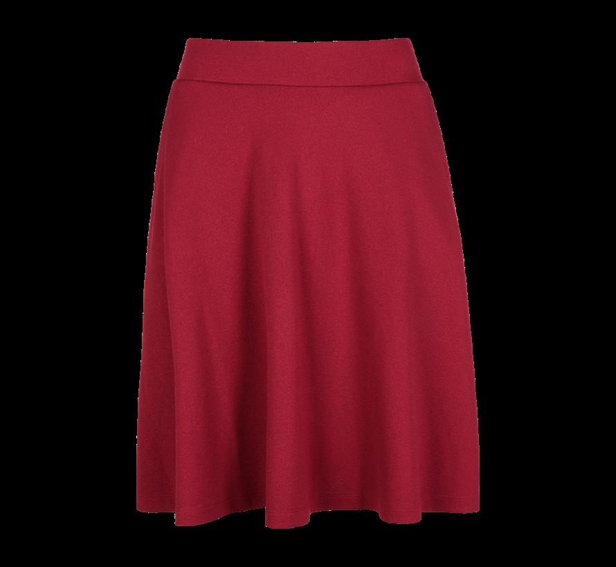 Rock | Sofia Skirt Milano Crepe | beaujolais red