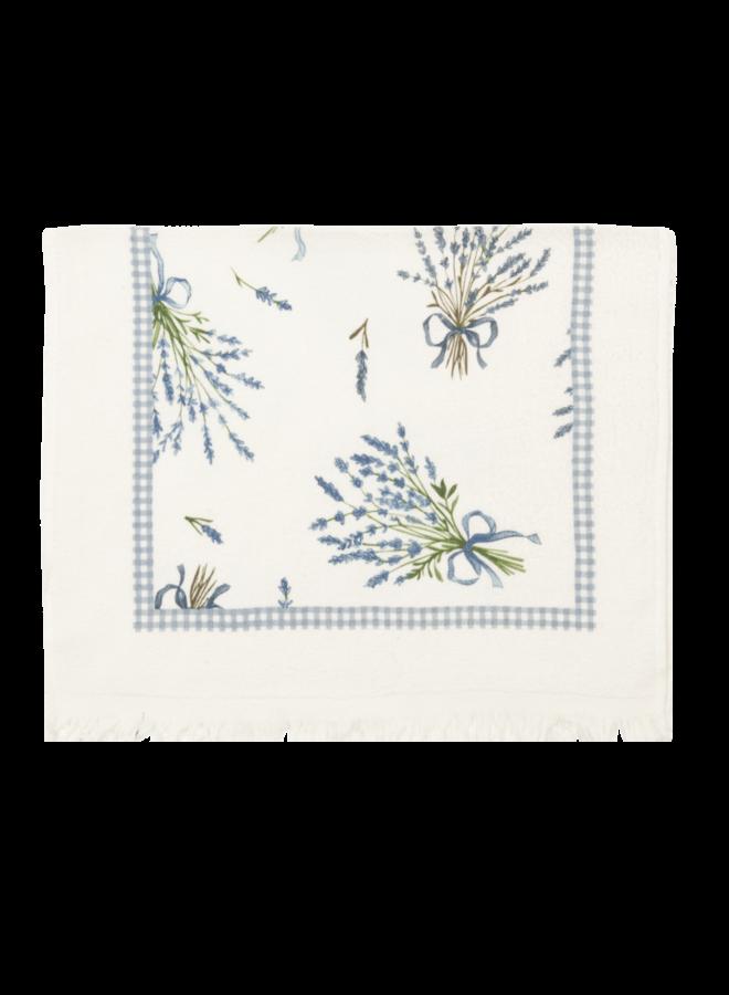 """Gästetuch """"Lavendel"""" - 40x60 cm Baumwolle"""