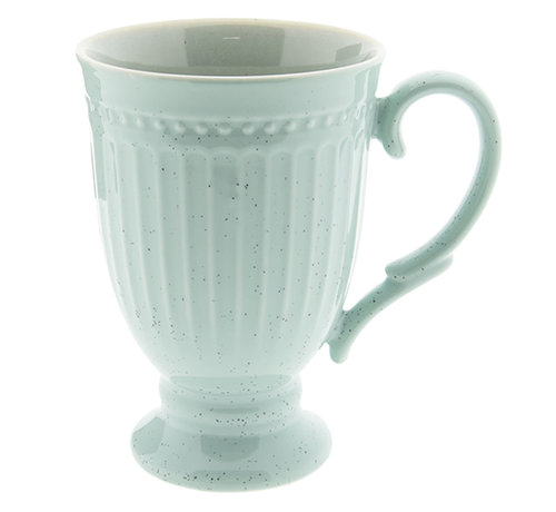 Clayre & Eef Cappuccinotasse Provence - 100% Porzellan - Mint