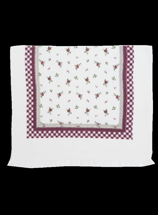 "Gästetuch ""Berry Roses"" - 40x60 cm Baumwolle"