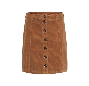 Cream Clothing Rock | Tria Skirt - Soft Camel
