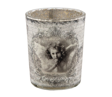 Clayre & Eef Teelichthalter - Shabby Angel