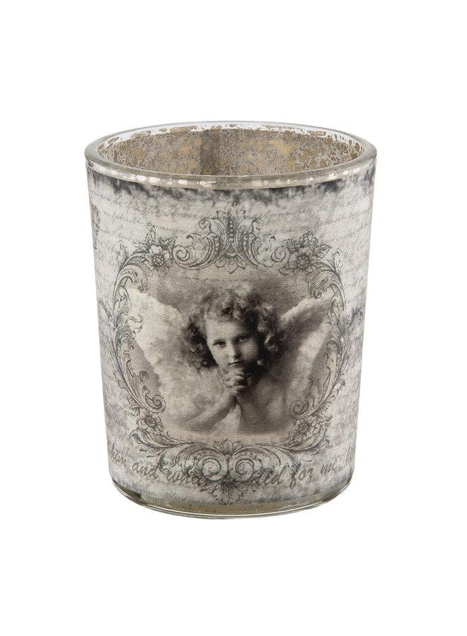 Teelichthalter - Shabby Angel