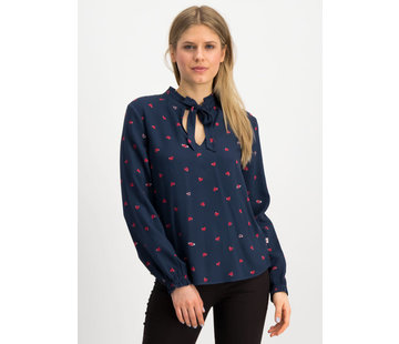 Blutsgeschwister Bluse   carrot and stick blousette - punk heart
