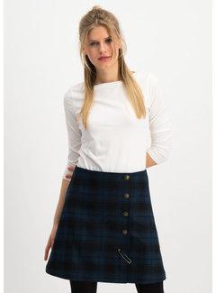 Blutsgeschwister Rock | dudelpipe pleats skirt - royal check