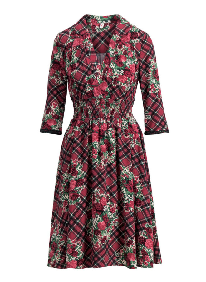 Kleid | crowned heart dress - scottish taste