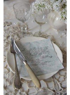 Jeanne d`Arc Living Papierservietten mit Text