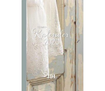 Jeanne d`Arc Living Terminkalender 2020 - Shabby Chic Agenda, Buchkalender