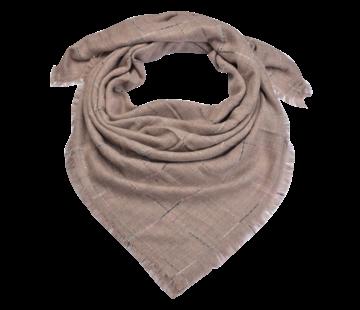 Clayre & Eef Schaltuch - Rosa 130x130 cm