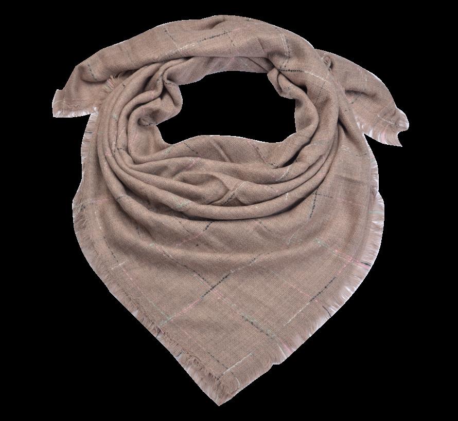 Schaltuch - Rosa 130x130 cm