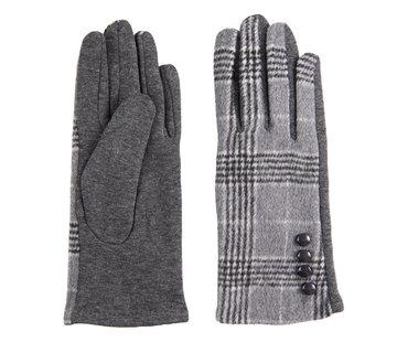 Clayre & Eef Handschuhe - Scottish grey