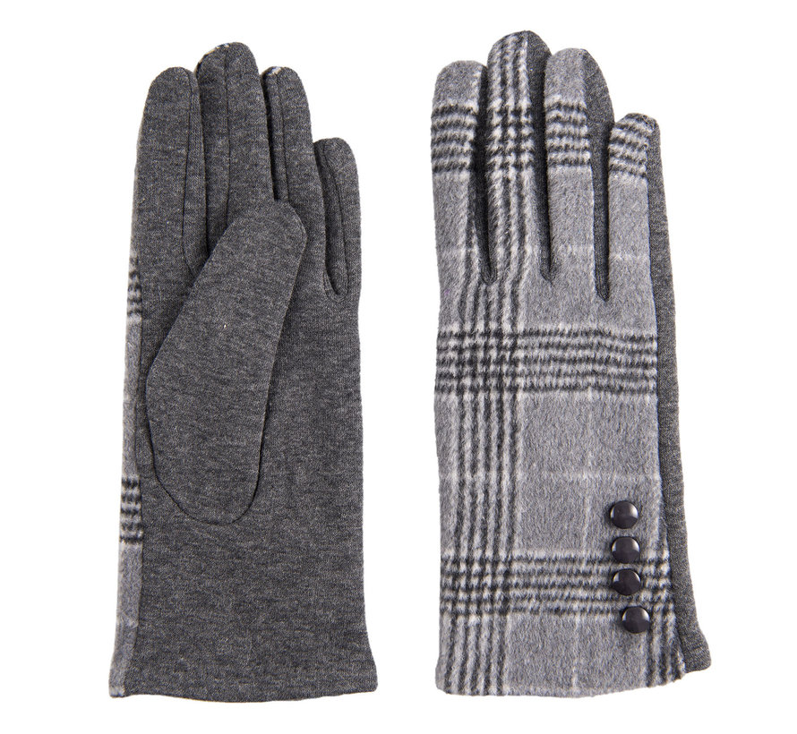 Handschuhe - Scottish grey