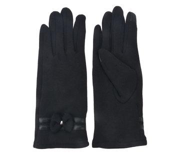 Clayre & Eef Handschuhe - Schwarz mit Smartphone Touch