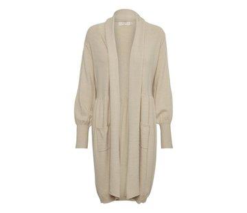 Cream Clothing Langcardigan   Adelina Knit Cardigan - Light Beige