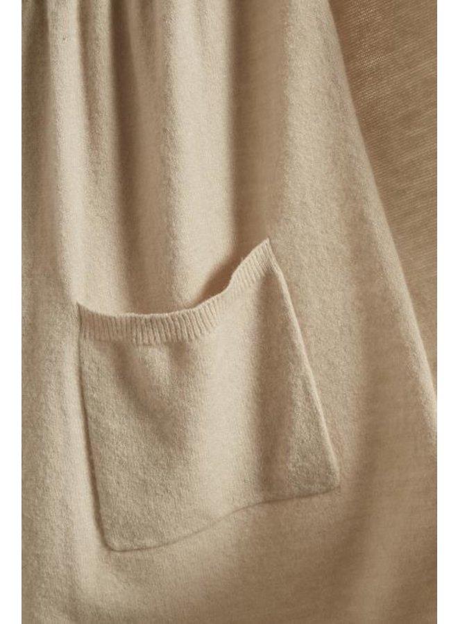 Langcardigan | Adelina Knit Cardigan - Light Beige