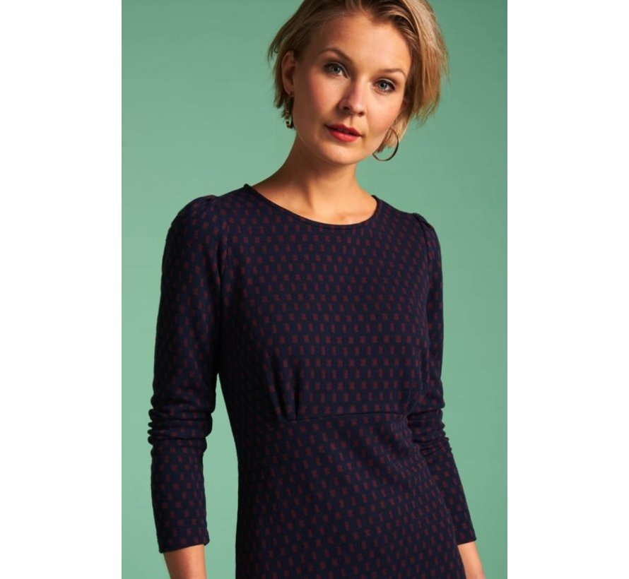 Kleid   Duffy Dress Peroni - Blue