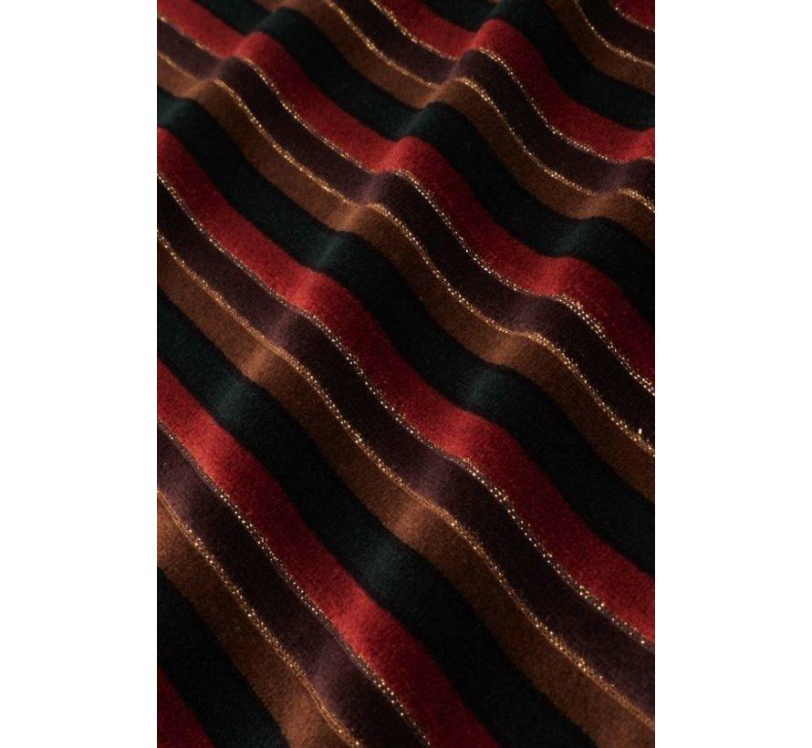 Kleid | Wrap Dress Nikki Stripe - Pine Green