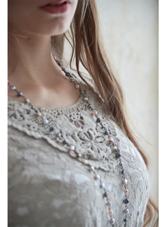 Spitzenbluse   Pure glory - Light Grey - XS