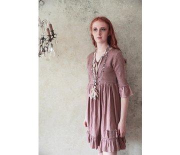 Jeanne d`Arc Living Kleid | Forever joyful - Vintage powder - XS