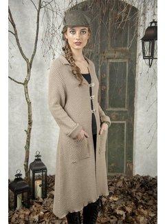 Jeanne d`Arc Living Langer Strickcardigan | Classic moments - Beige