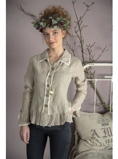 Jeanne d`Arc Living Bluse | Pure affections - Linen color